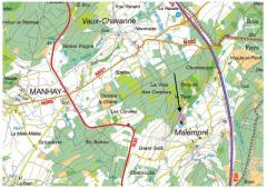 Parcelles boisées et pâtures, 1,47 ha